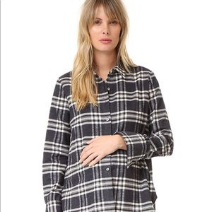 Hatch Collection The flannel Blouse